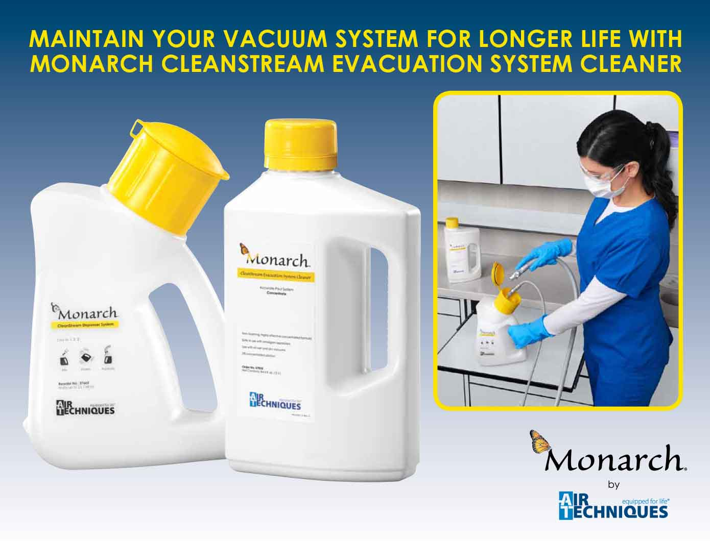 Monarch Cleanstream Evacuation System Cleaner Air Techniques