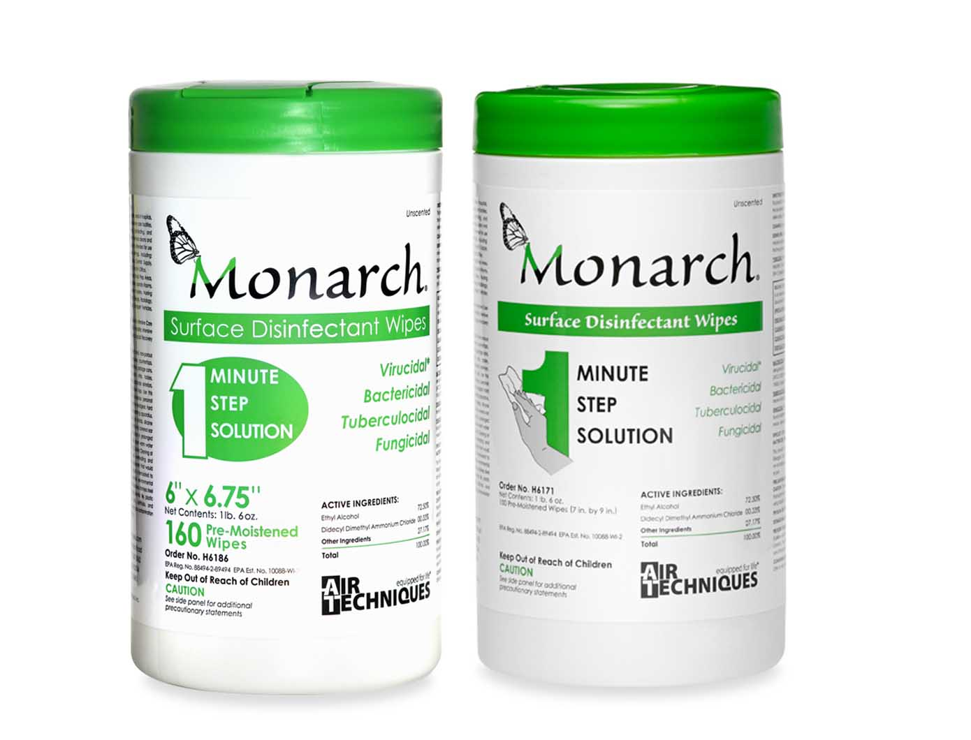 Monarch Wipes Sample - Air Techniques